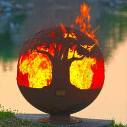 Fire Pit Gallery Tree of Life Fire Pit