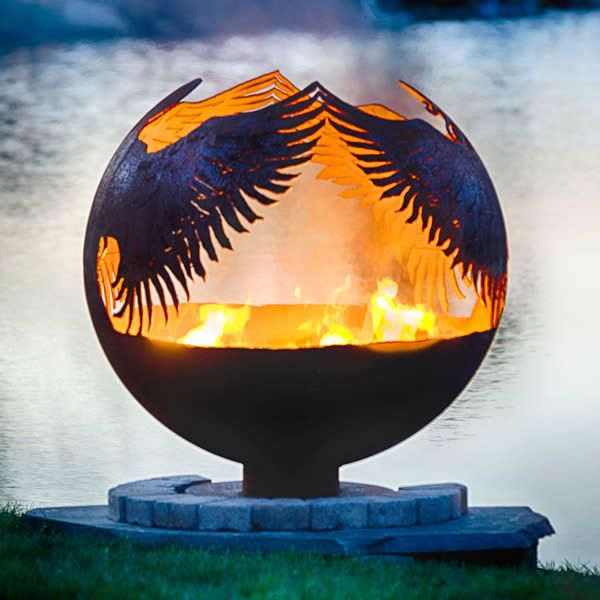 Fire Pit Gallery Hidden Angel Fire Pit image number 1