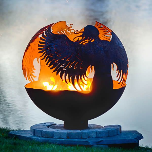 Fire Pit Gallery Hidden Angel Fire Pit image number 0