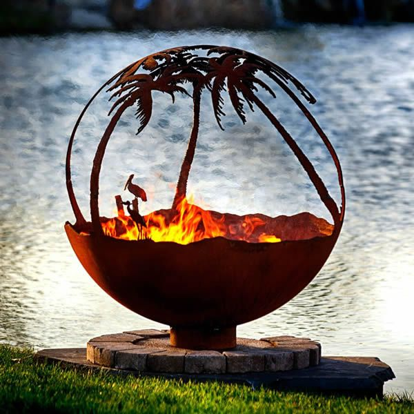 Fire Pit Gallery Another Day in Paradise Fire Pit image number 1