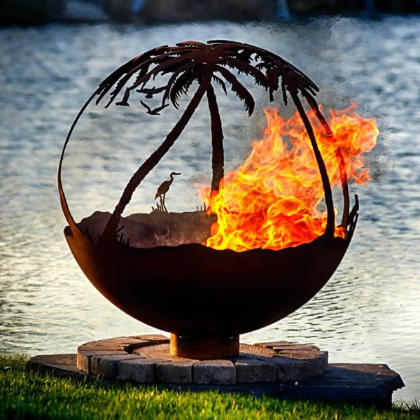 Fire Pit Gallery Another Day in Paradise Fire Pit image number 0