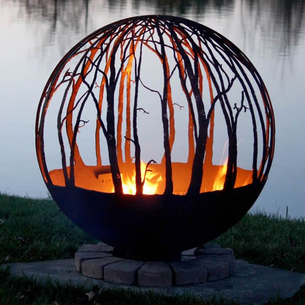 Fire Pit Gallery Winter Woods Fire Pit image number 0
