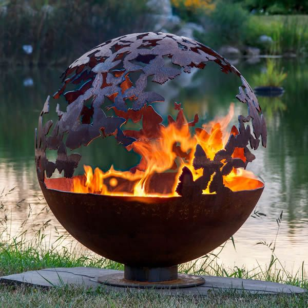 Fire Pit Gallery Butterfly Wings Fire Pit image number 1