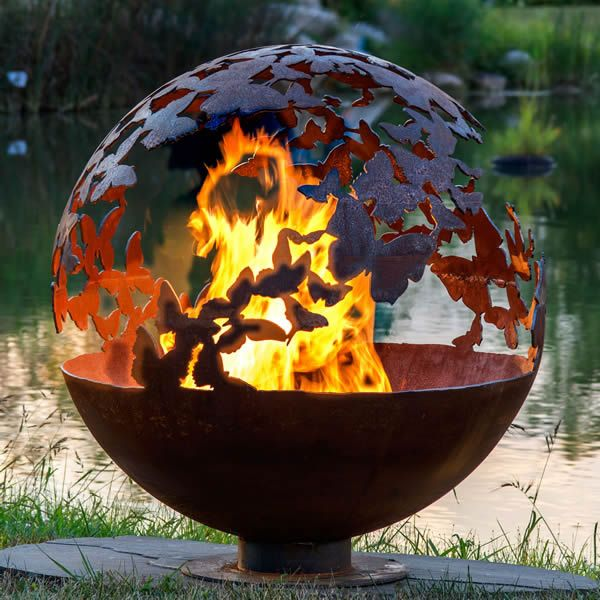 Fire Pit Gallery Butterfly Wings Fire Pit image number 0