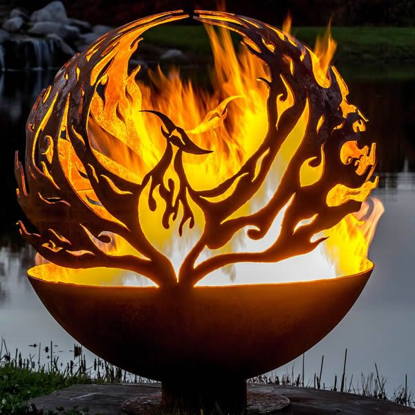 Fire Pit Gallery Phoenix Rising Fire Pit image number 1