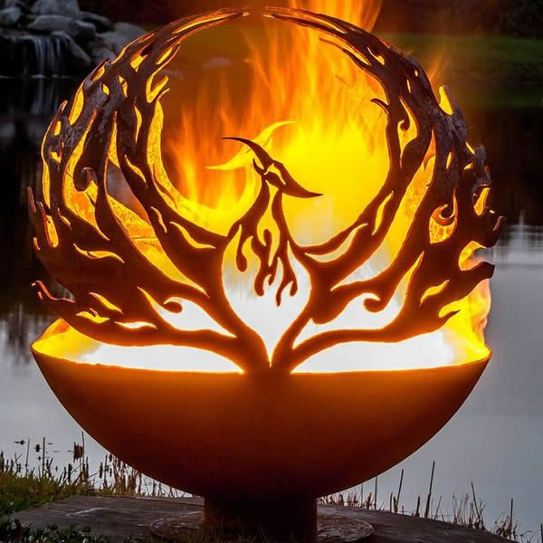 Fire Pit Gallery Phoenix Rising Fire Pit image number 0