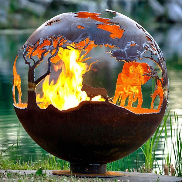Fire Pit Gallery African Safari Fire Pit image number 1