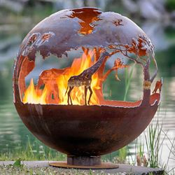 Fire Pit Gallery African Safari Fire Pit