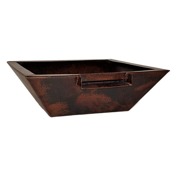"La Palma Copper Auto Ignition Fire & Water Bowl - 36"" image number 0"
