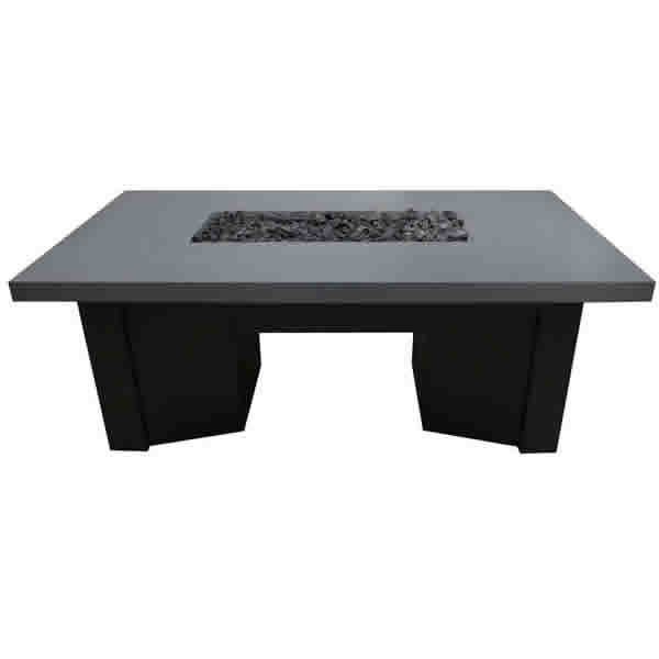 Saleen Gas Fire Pit Table w/GFRC Top image number 0