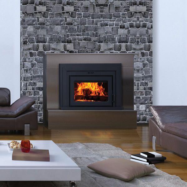 Supreme Fusion 18 Wood Burning Fireplace Insert image number 1