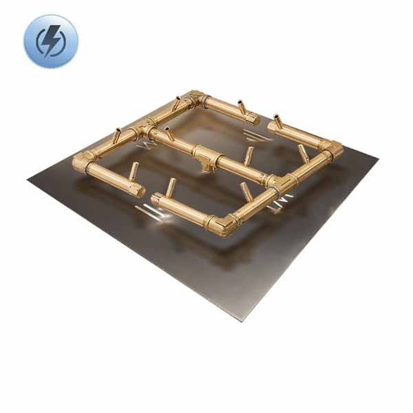 """120K BTU Square Electronic Crossfire Burner System - 24"""" image number 0"""