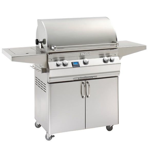 Aurora A540 Gas BBQ Grills w/Single Side Burner image number 0