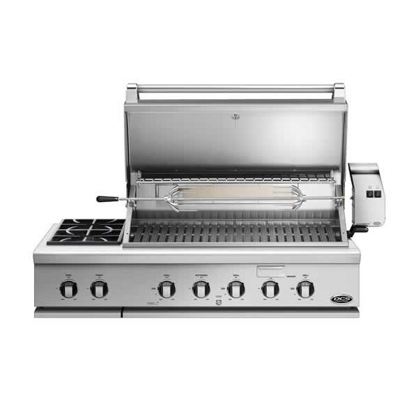 "DCS Series 7 Grill With Rotisserie and Side Burners - 48"" image number 1"