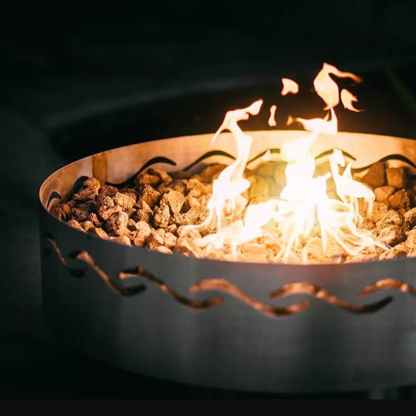 Fire Surfer Gas Fire Pit image number 1