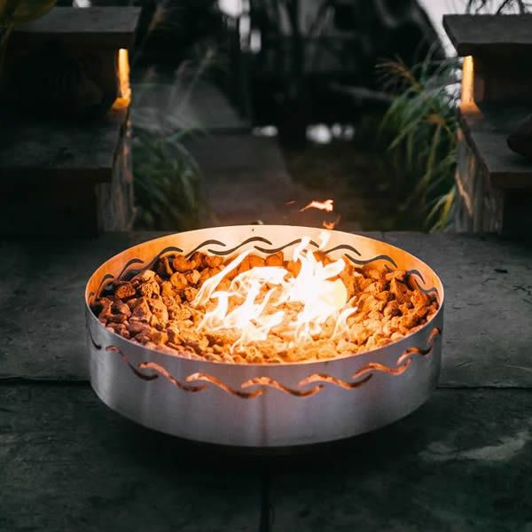 Fire Surfer Gas Fire Pit image number 0
