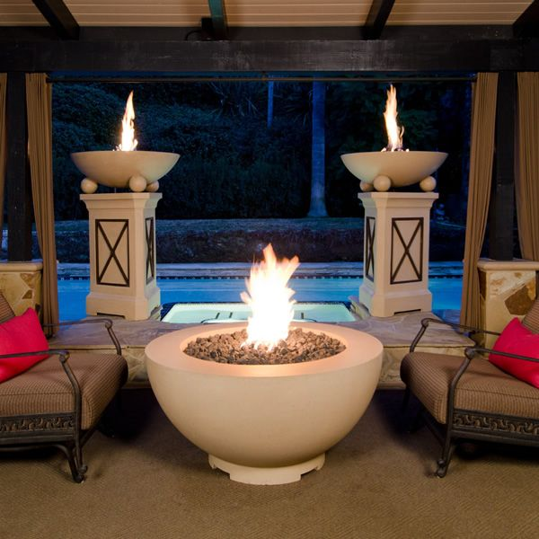 "American Fyre Designs Gas Fire Bowl - 48"" image number 0"