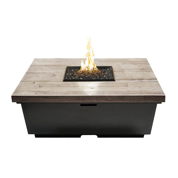 Silver Pine Contempo Gas Fire Pit Table - Square image number 0