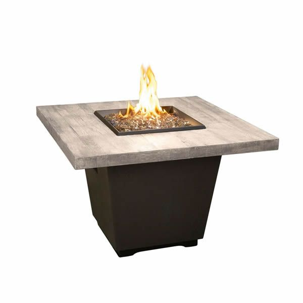 Silver Pine Cosmo Gas Fire Pit Table - Square image number 0
