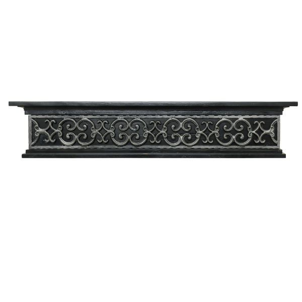 Ornamental Designs Tuscany Fireplace Mantel - Black image number 0