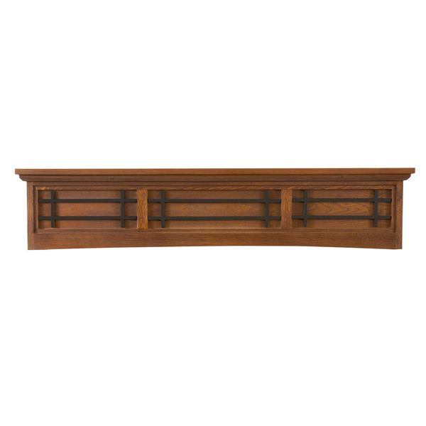 Ornamental Designs Belisario Fireplace Mantel - Cherry image number 0