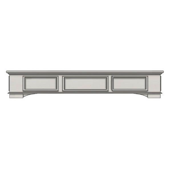 Ornamental Designs Cambridge Fireplace Mantel - White image number 0