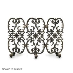 Sienna Three Panel Fireplace Screen