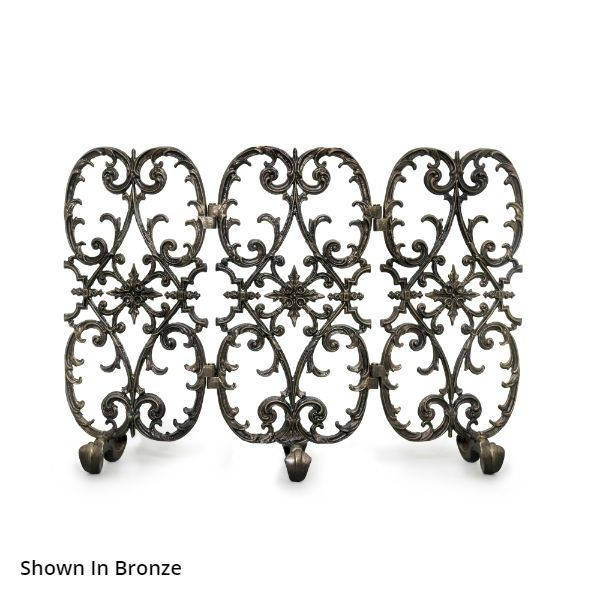 Sienna Three Panel Fireplace Screen image number 0