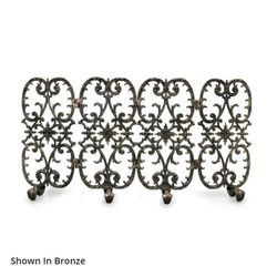 Sienna Four Panel Fireplace Screen
