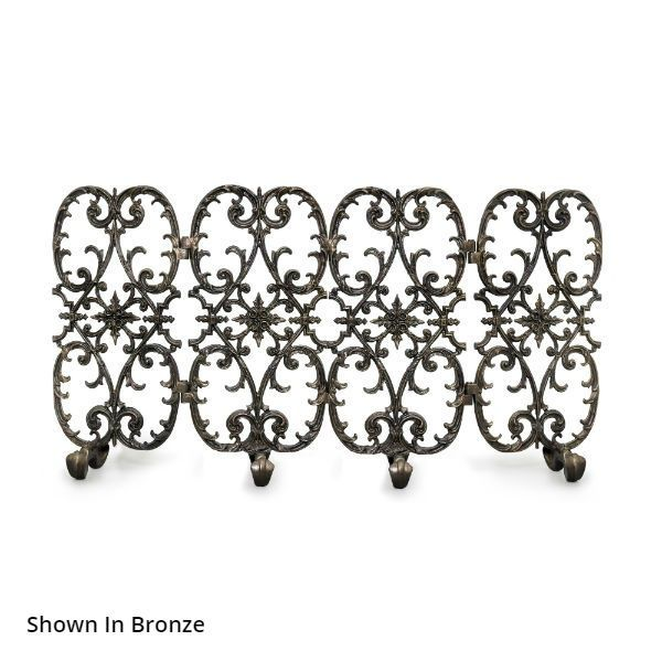 Sienna Four Panel Fireplace Screen image number 0
