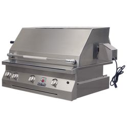 """Solaire Deluxe Built-In Gas BBQ Grill - 36"""""""