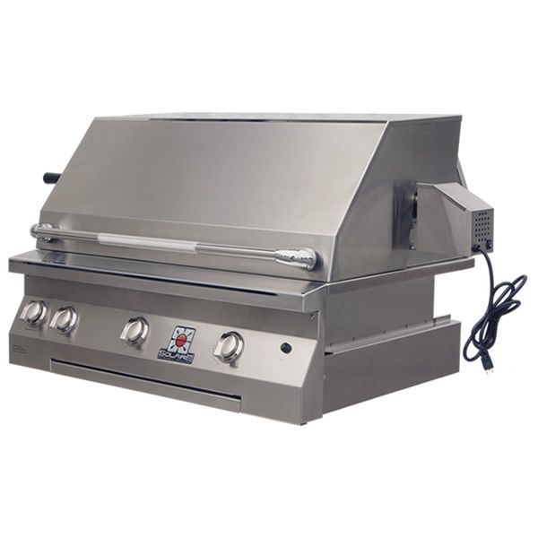 "Solaire Deluxe Built-In Gas BBQ Grill - 36"" image number 0"