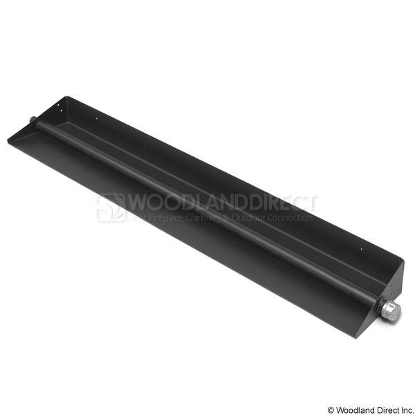 """Black Steel Gas Ember Pan - 36"""" image number 0"""