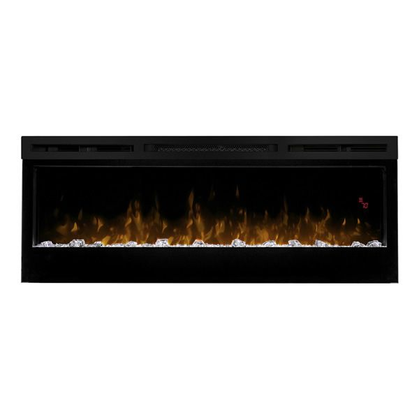 "Dimplex Prism Series Wall Mount Electric Fireplace - 50"" image number 0"