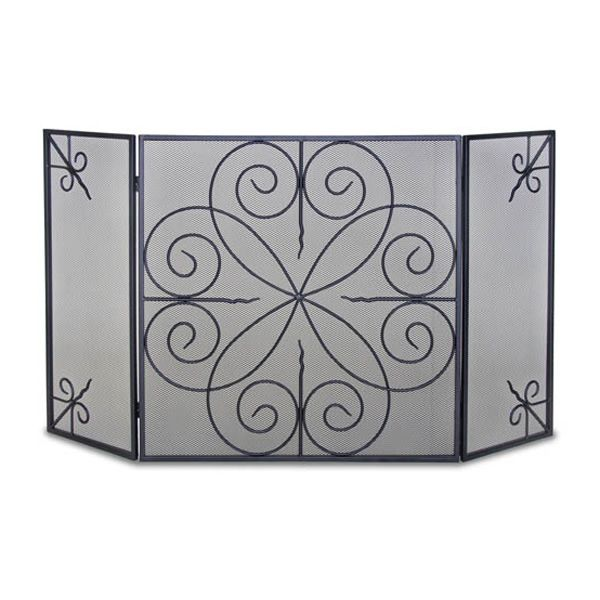 Elements 3-Panel Fireplace Screen image number 0