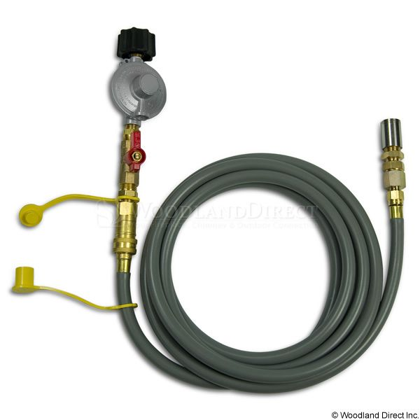 Small 40K BTU Propane Tank Conversion Kit image number 0