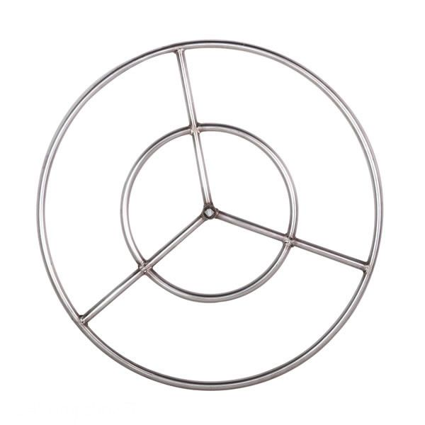 """Stainless Steel Natural Gas Fire Ring Burner - 22"""" image number 0"""