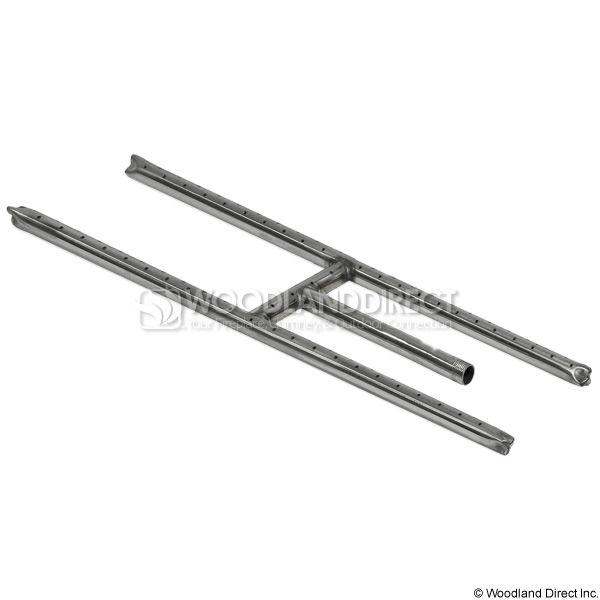 "Stainless Steel H-Burner - 24"" image number 0"