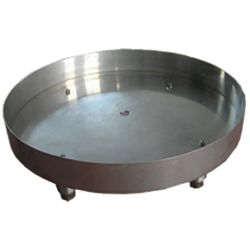 Stainless Steel Round Fire Bowl Pan - 25""