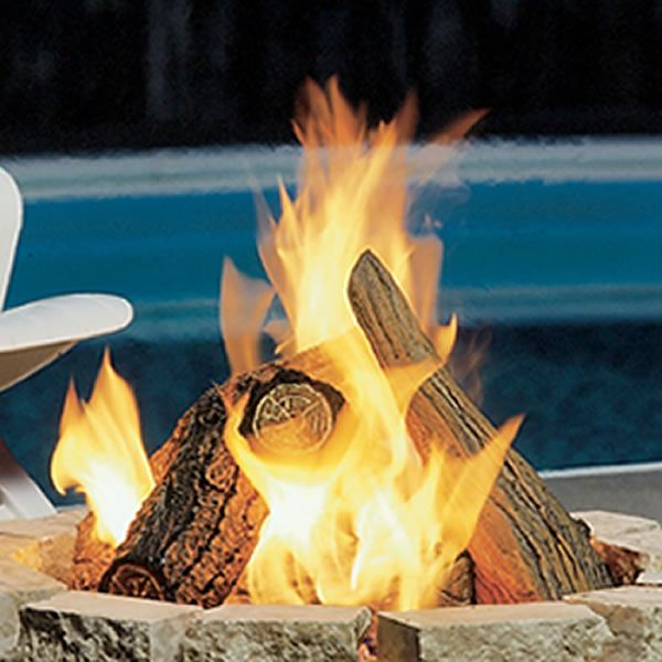 Kingsman Fire Pit Log Set image number 0