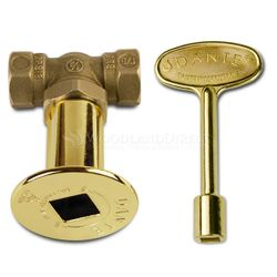 1/4 Turn Ball Valve Combo Pack - Straight - Brass