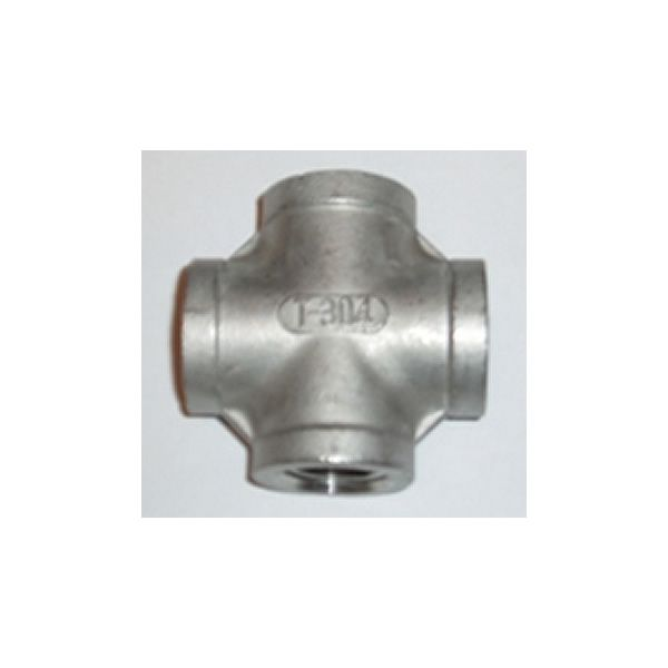 "1/2"" Cross Stainless Steel Fitting image number 0"