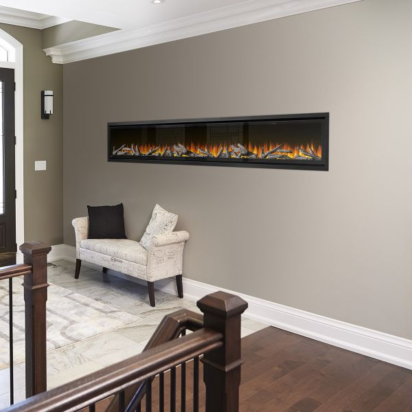 Napoleon Alluravision Deep 100 Electric Fireplace image number 1
