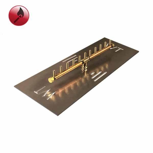 """110,000 BTU Match Lit Linear Crossfire Burner System - 26"""" image number 0"""