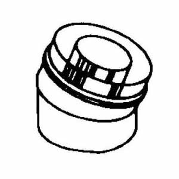 "12"" Diameter Superior Wood-Burning DM Offset Elbow Kit - 30 Degree image number 0"