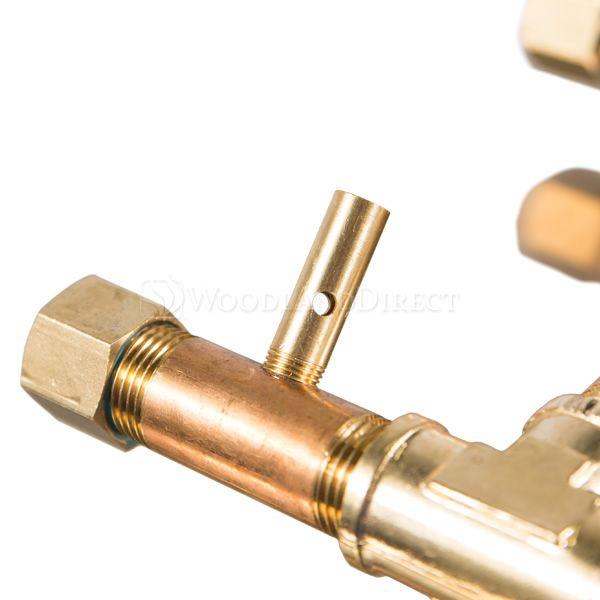 """120,000 BTU Electronic Crossfire H-Burner System - 28"""" image number 1"""
