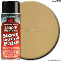 1200º  Almond Stove Paint-12 oz Spray On