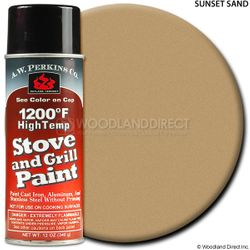 1200º  Sunset Sand Stove Paint-12 oz Spray On