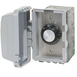 120V Infratech In-Wall Single Regulator Box with Cover