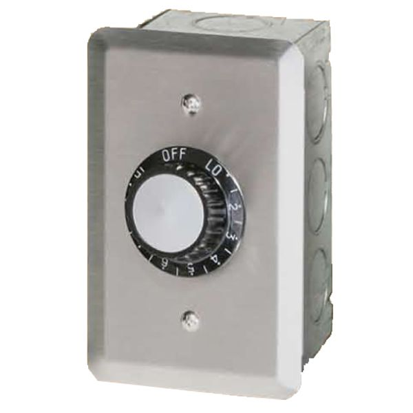 120V Infratech Single Regulator with Wall Plate & Gang Box image number 0